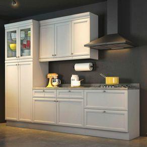 Cozinha-Compacta-4-Pecas-com-Paneleiro-Cristaleira-Americana