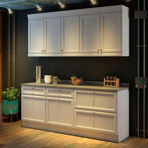 Cozinha-Compacta-4-Pecas-Americana-Nesher-Branco