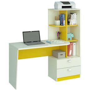 Escrivaninha-2-Gavetas-e-Prateleira-Elisa-Permobili-Branco-A