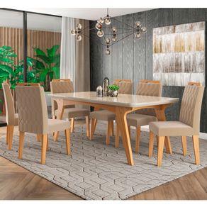 Conjunto-de-Mesa-Selena-180-cm-com-6-cadeiras-Paola-Cimol-Na
