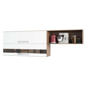 Armario-de-Cozinha-Aereo-200cm-2-Portas-Basculantes-com-Nich