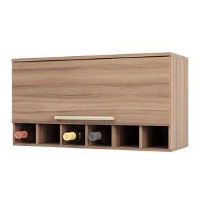 Armario-de-Cozinha-Aereo-80cm-1-Porta-Basculante-100--MDF-Na